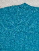 Closeup of Back of B & L Sweater