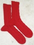 """Finished """"Here Be Wyvern"""" Socks"""